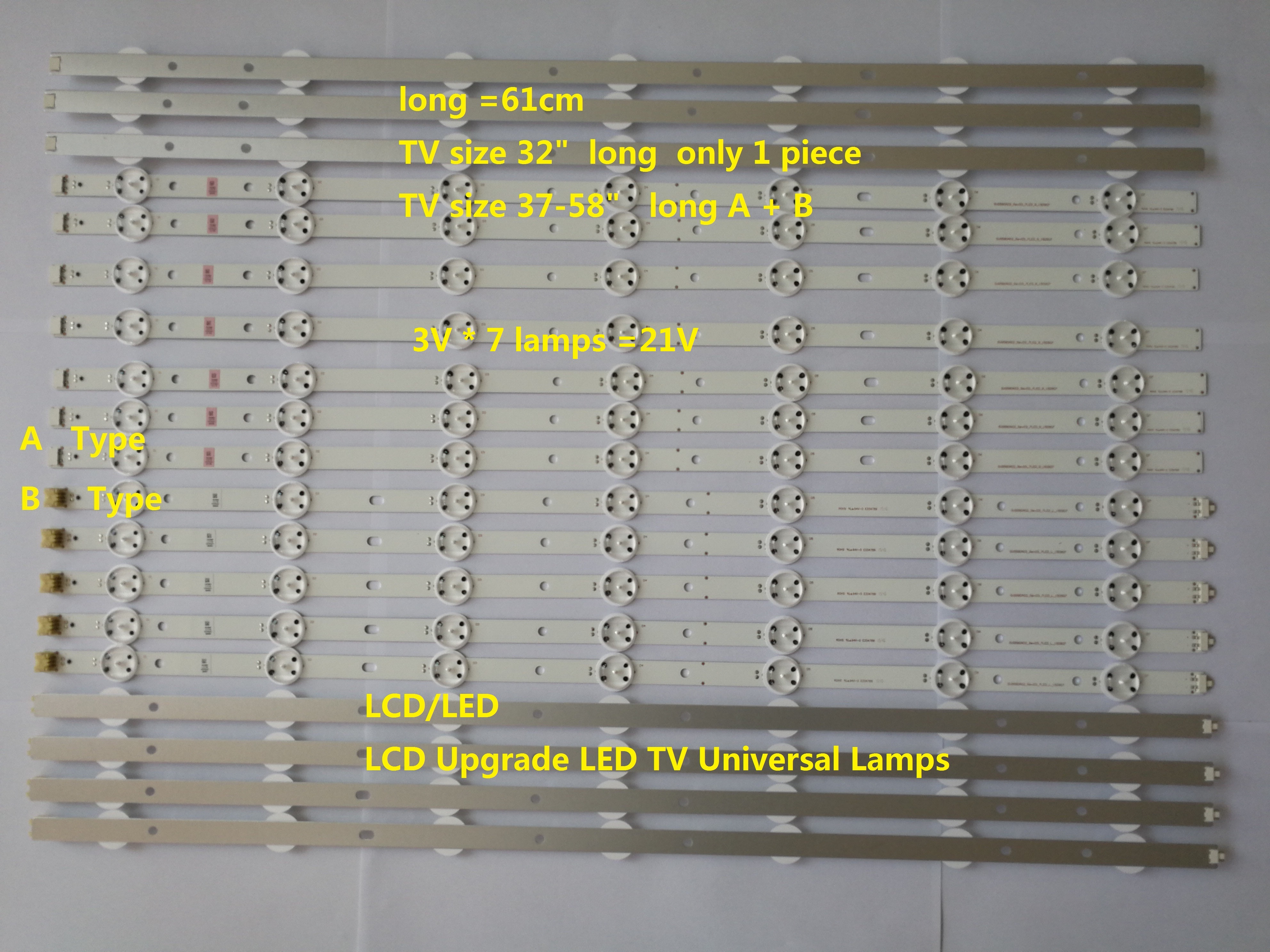 "LED TV Universal strip for 32"" 37-58"""