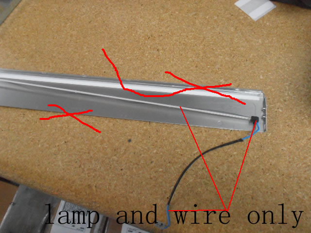 LTM220MT05 ccfl lamp with wire , without the bracket 5pcs/lot