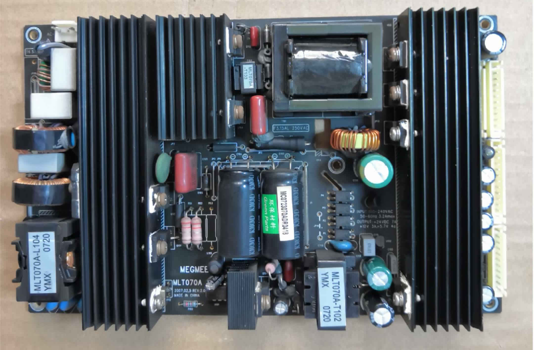 MLT070A LCD Power Supply