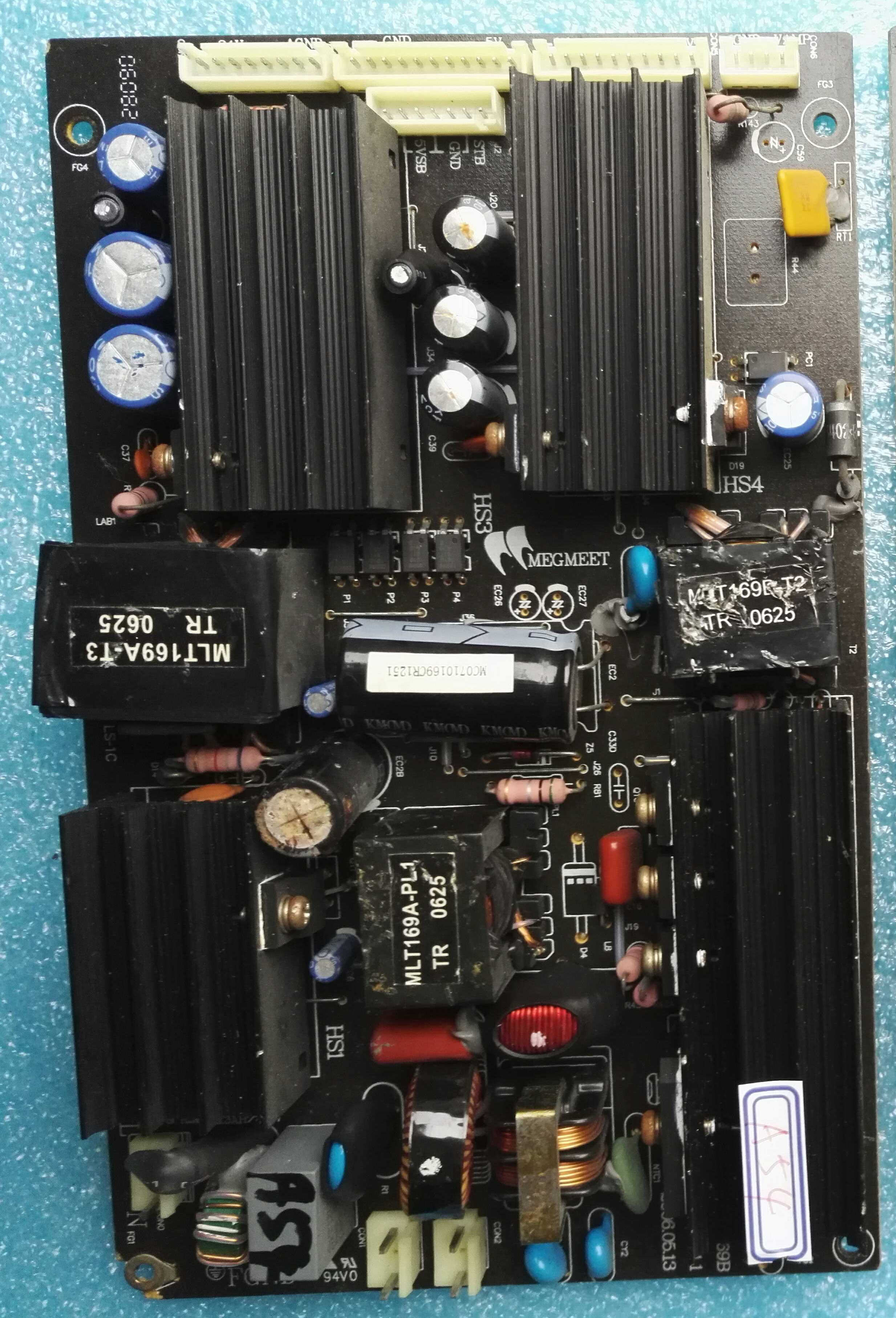 MLT169B power supply board
