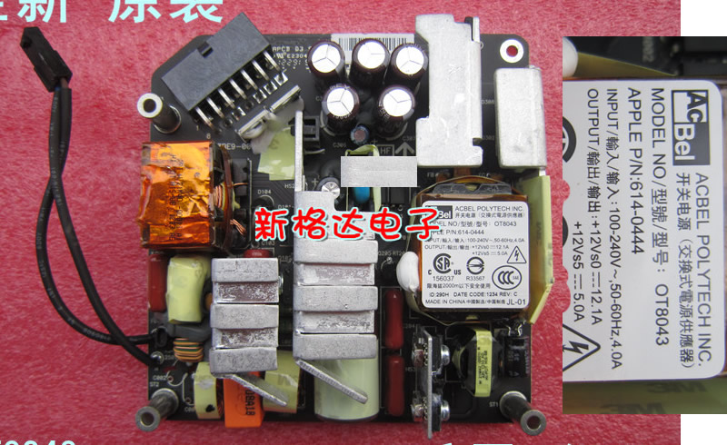 APPLE A1311  Imac POWER BOARD OT8043 614-0444