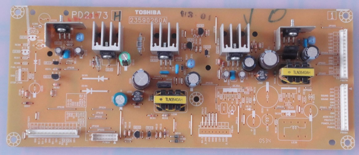 toshiba 37WL58C sub power board PD2173