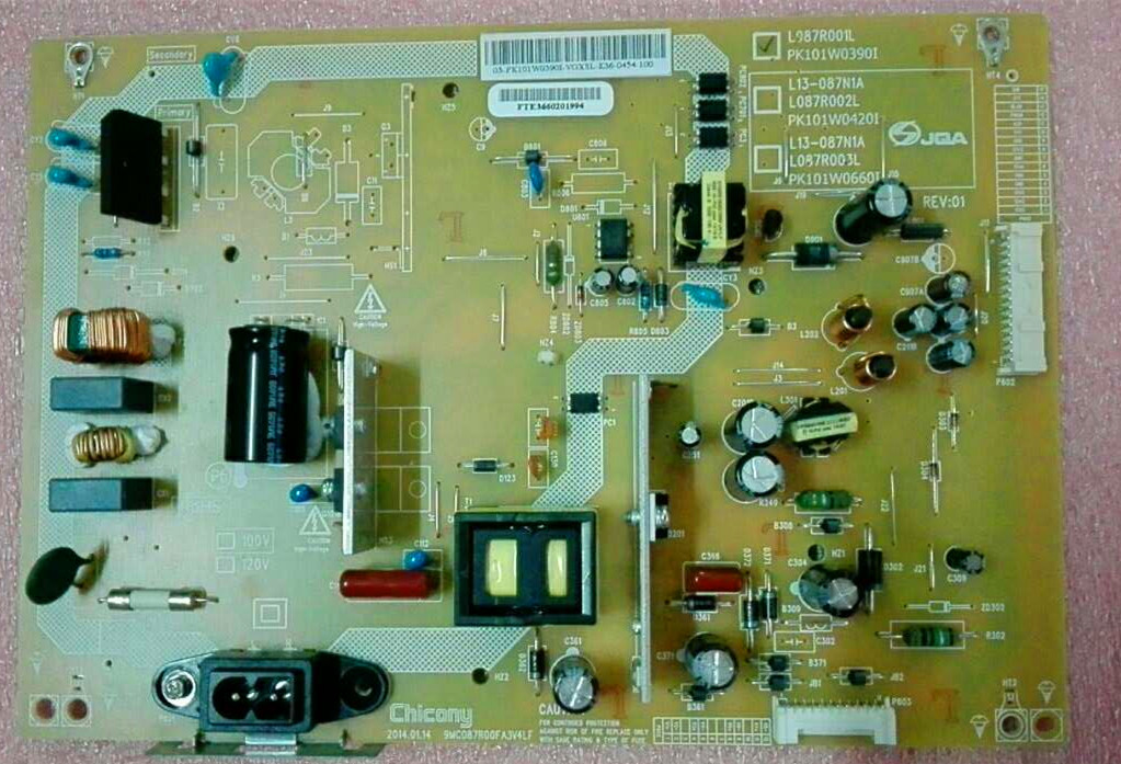 PK101W0390I  L087R001L POWER SUPPLY BOARD