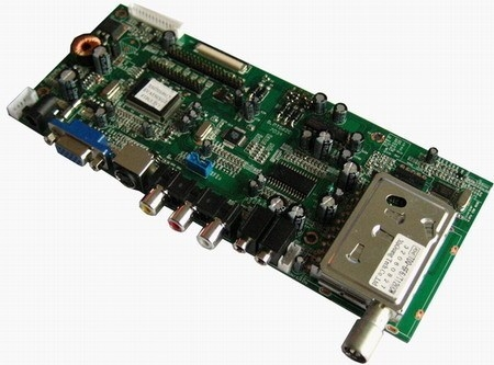 PT562C LCD 4 in one TV board