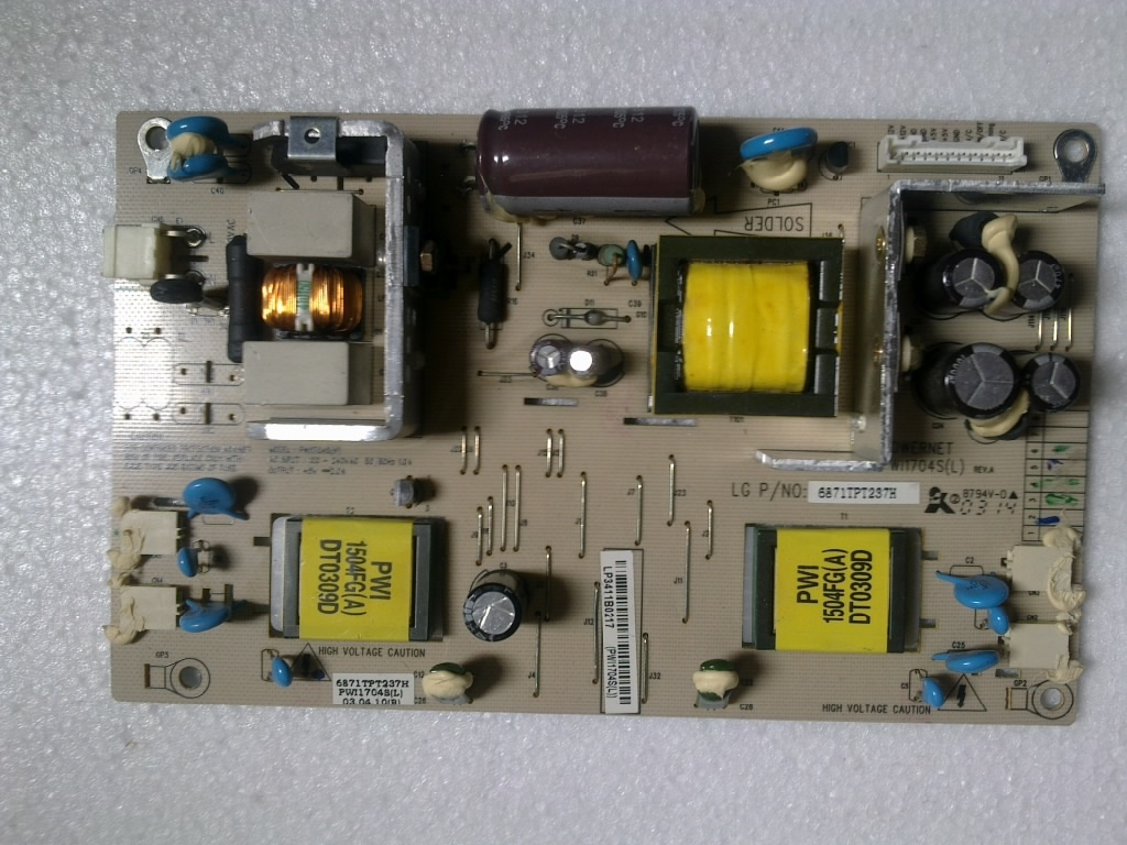 PW11704S(A) 6871TPT237D Power Board