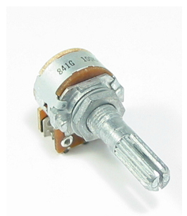 ALPS 16mm Size Metal Shaft Type RK163 Series 100KA audio High performance potentiometer