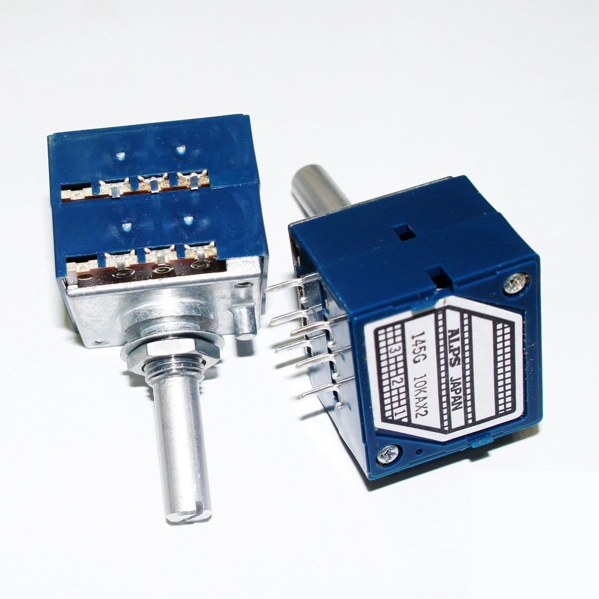 ALPS 27mm Metal Shaft Type RK271 Series 10KA audio High performance potentiometer