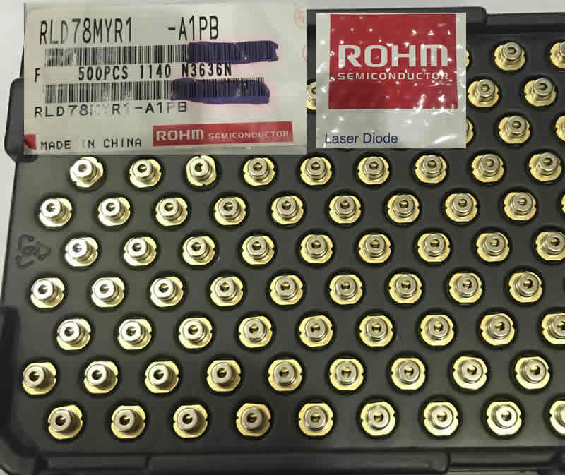 ROHM 780nm 5mw RLD78MPA1 5.6mm M-type