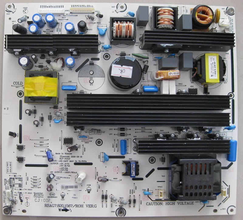 RSAG7.820.1567/ROH VER.G Power Supply