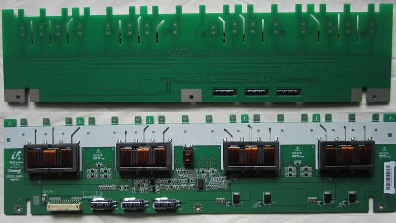 tv backlight inverter board. ssi320_16b01 rev0.3 samsung backlight inverter board tv