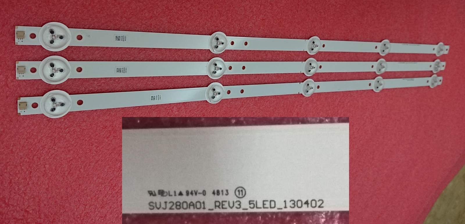 SVJ280A01_REV3_5LED_130402 5 leds 53cm 3pcs/set