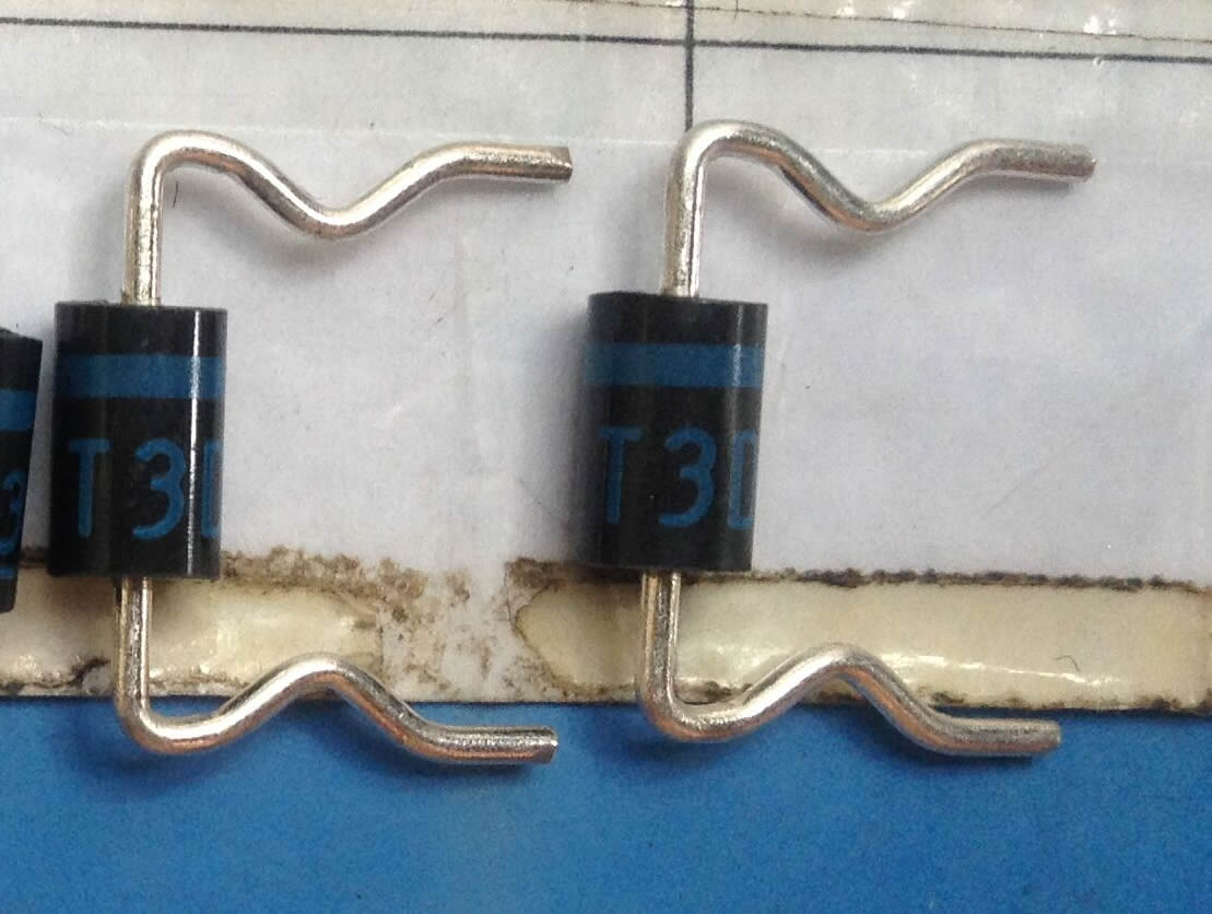 T3D diode blue 5pcs/lot