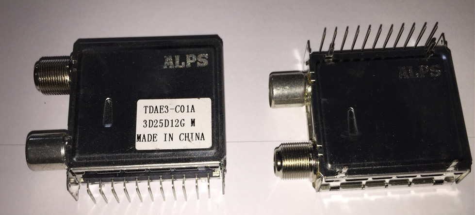 ALPS TDAE3-C01A tuner new