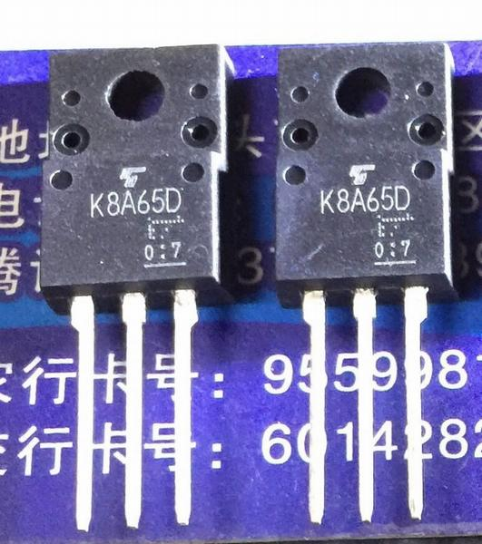 TK8A65D K8A65D TO-220F 5PCS/LOT