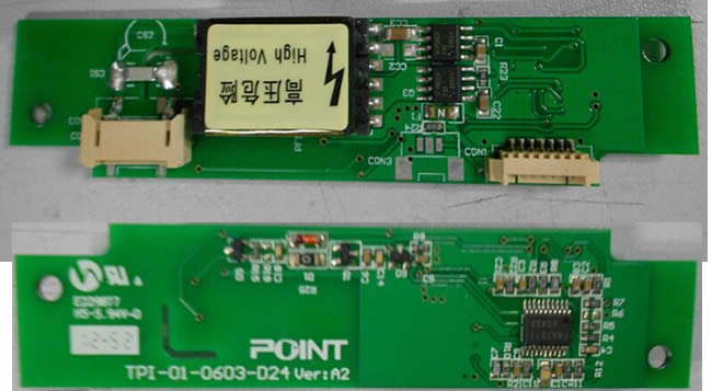 TPI-01-0603-D24V backlight inverter board