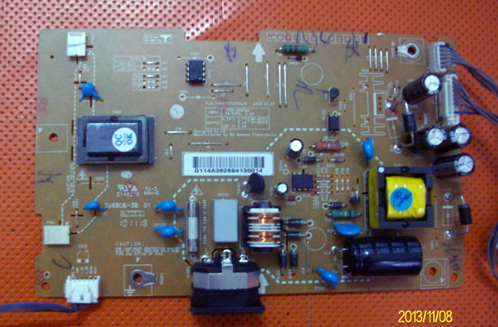 EAX61376903/0 TU68C8-3B power supply board