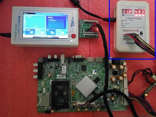 Lcd Led Tv Repair Power Supply Box Tester Meter Tool Ccfl