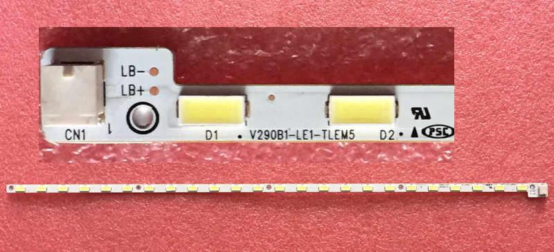 V290B1-LE1-TLEM5 for display V290BJ1-LE1 24leds  367MM 1pcs