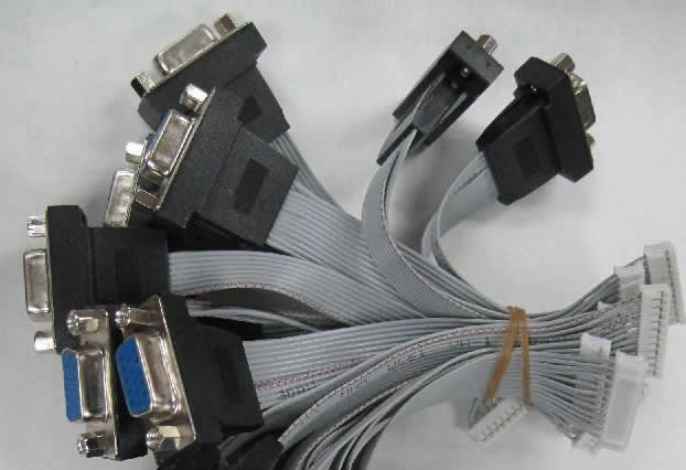 VGA cable to board