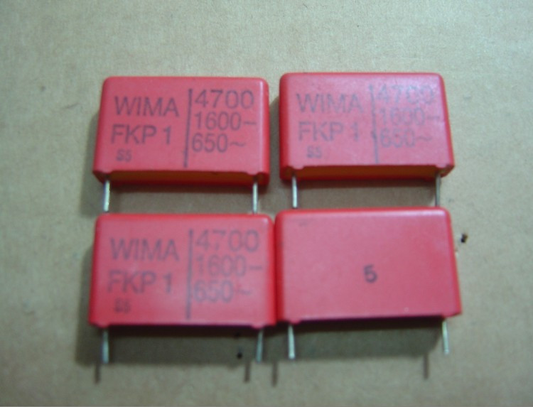 WIMA 1600V472(4700P=4N7) 5pcs/lot FKP1 spacing 23MM