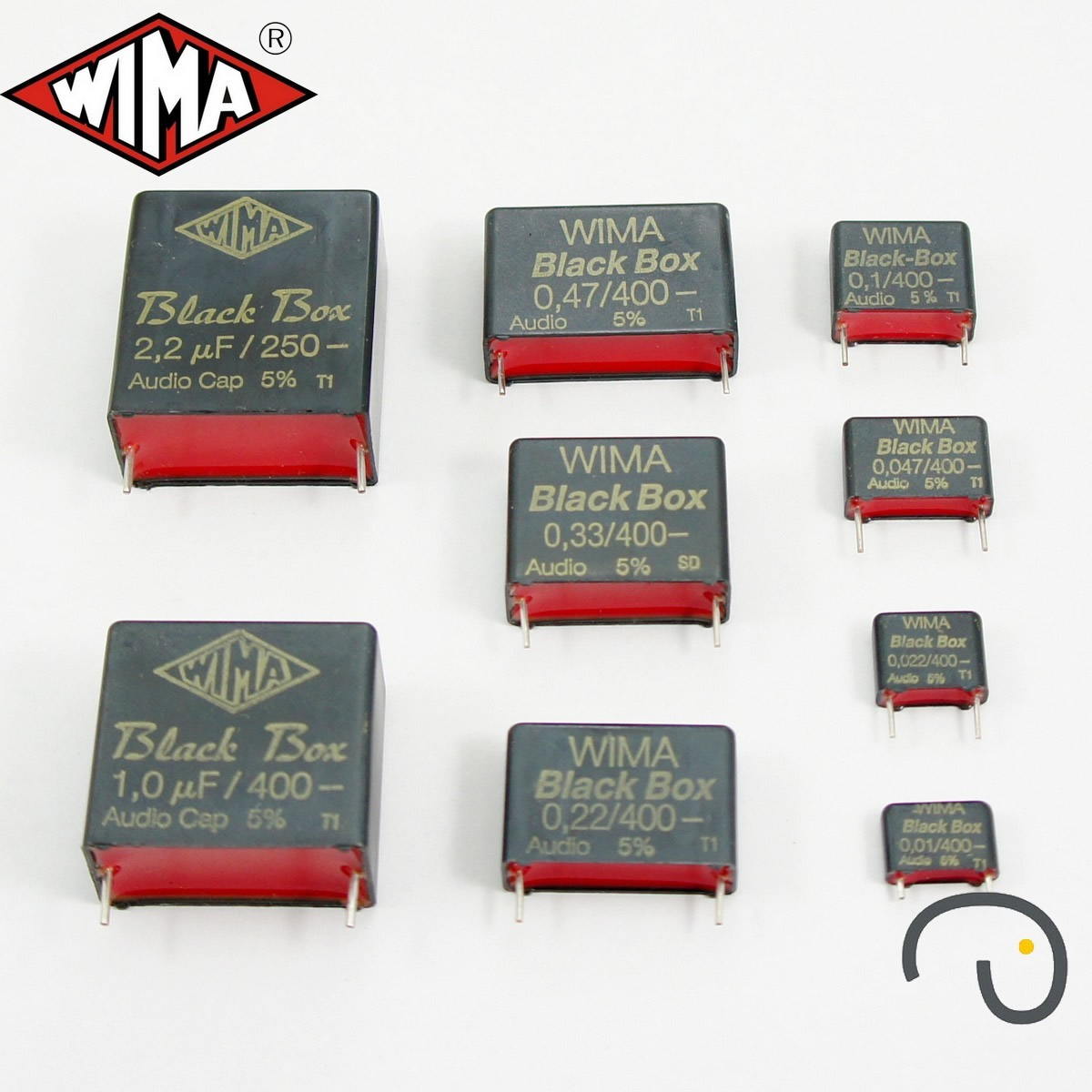 wima black box audio cap