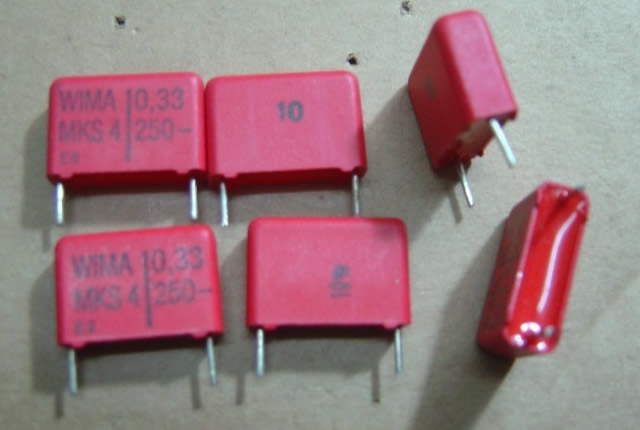 WIMA 250V0.33UF (334=330N) 5pcs/lot