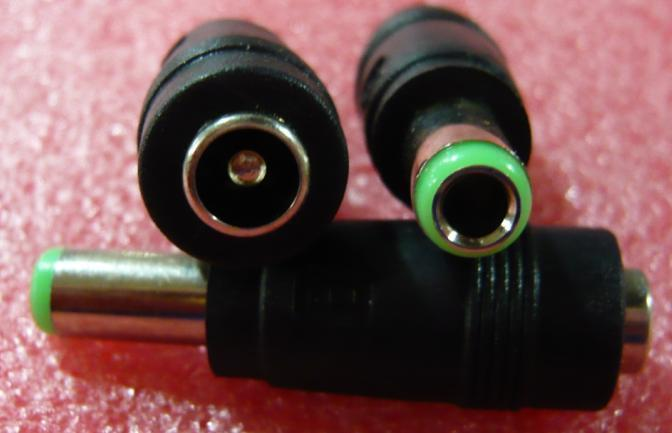 adapter tip 5.5X2.1MM female to 6X3MM male for acer