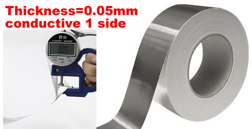 aluminum foil tape wide 25mm length 40M