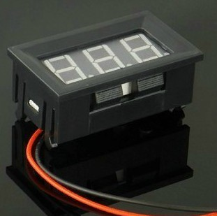 4.5-30V Car, Electromobile battery power display