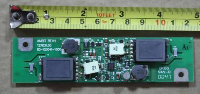 AMBIT REV:1 T27I031.00 83-120041-1000 inverter board