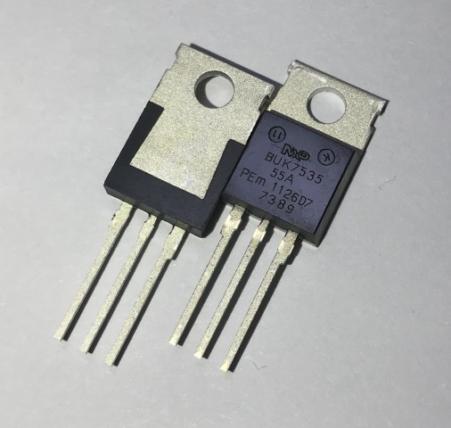 BUK7535-55A TO-220AB NXP 5PCS/LOT