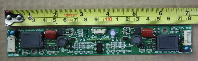REV.A DA00812600L inverter board