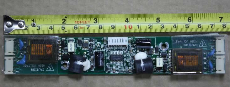 Viewsonic VX900 2994710702 DAC-12C024 inverter board