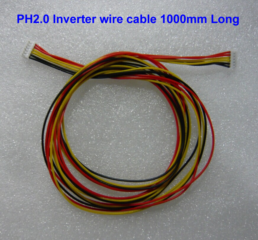 Inverter Wire Harness 6 pin to 6 pin PH2.0 1000mm