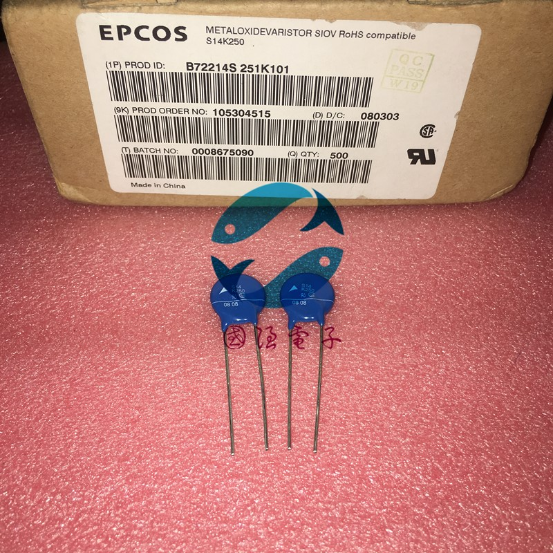 B72214S251K101 EPCOS S14K250 14mm 5pcs/lot