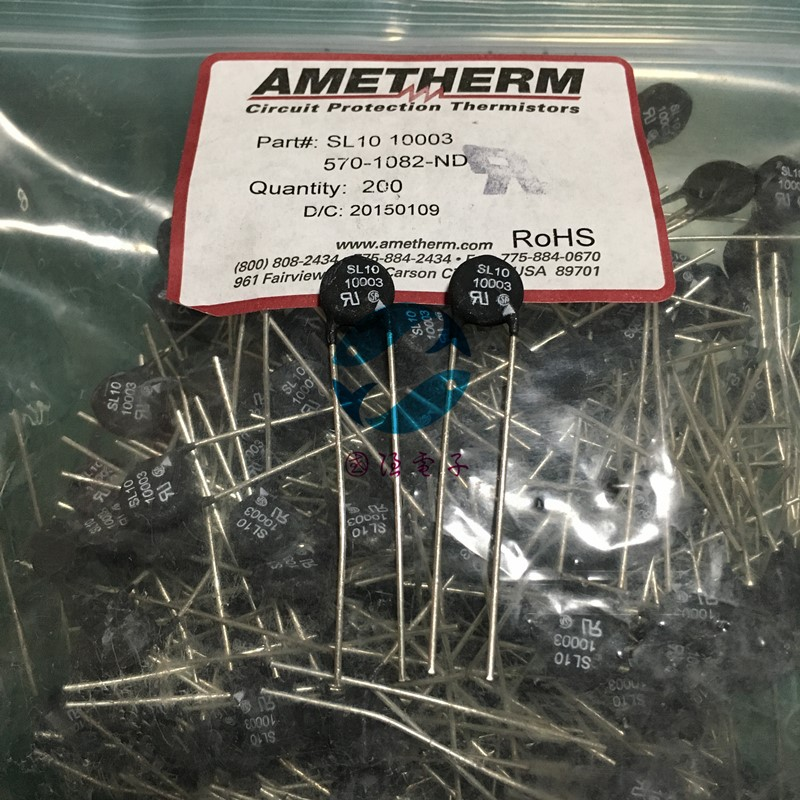 AMETHERM SL10 10003 NTC 10R 3A 5pcs/lot
