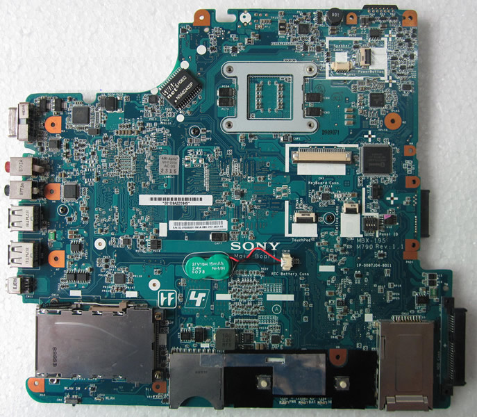 SONY mbx-195 motherboard