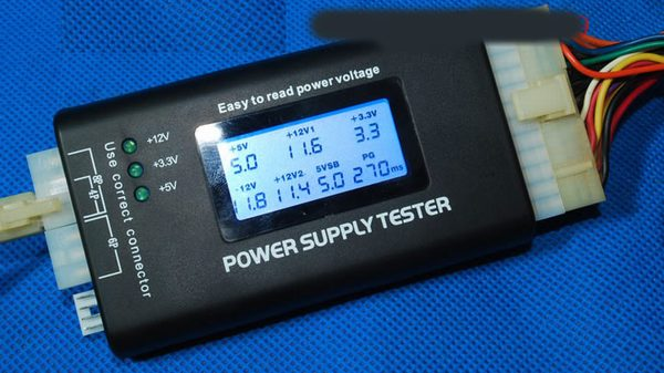 LCD , ATX power supply tester