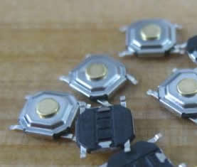 Samsung monitor 4*4mm smd button 10pcs/lot
