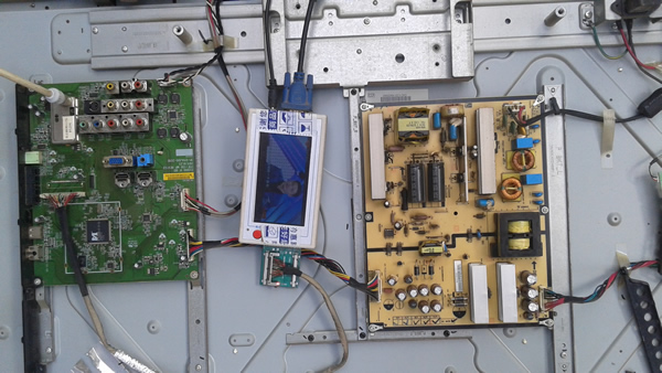 TV Motherboard Tester Tools TV160 Full HD LVDS Turn VGA (LED/LCD